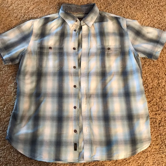 NWT LEE Premium Select Men/'s M Button Down Red Plaid Long-Sleeved Shirt